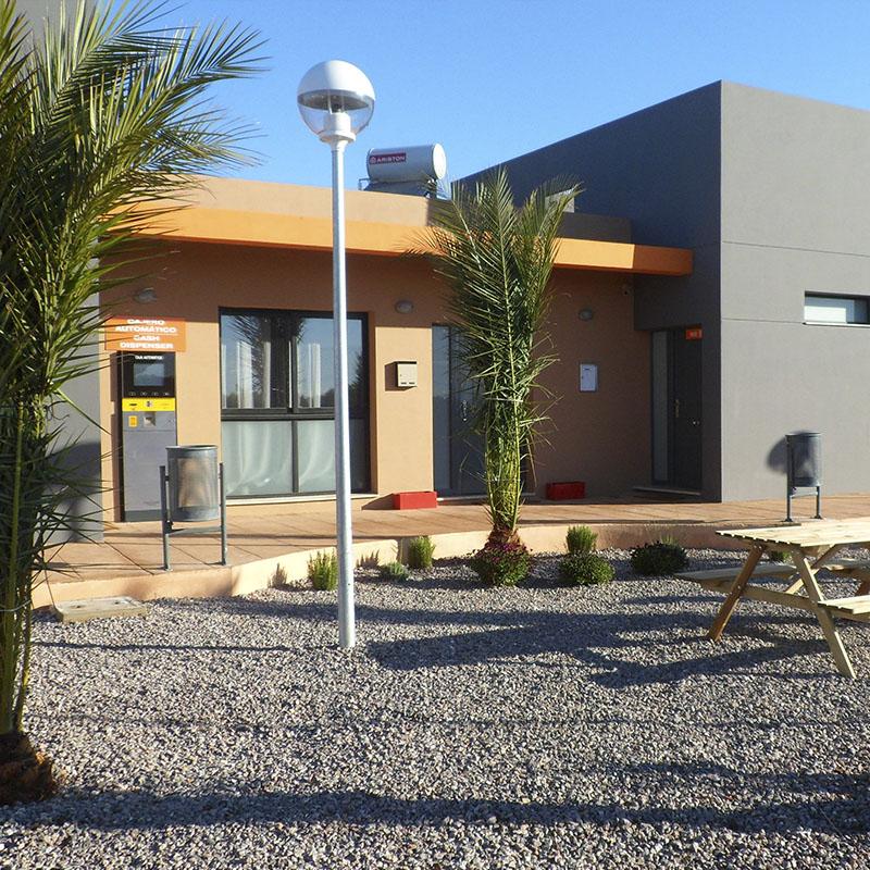 Edificio Parking de camiones Castellón
