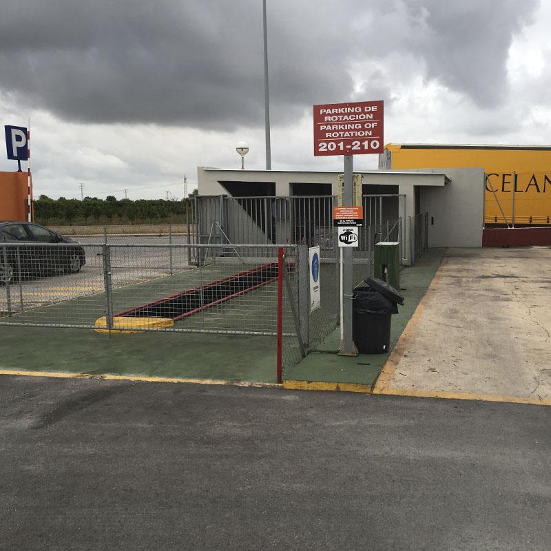 Foso parking de camiones Castellón