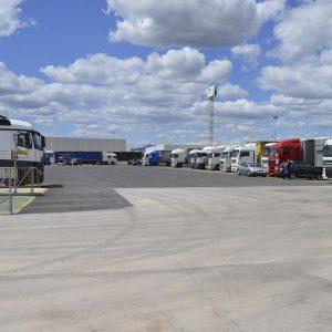 Parking camiones asfaltado Castellón