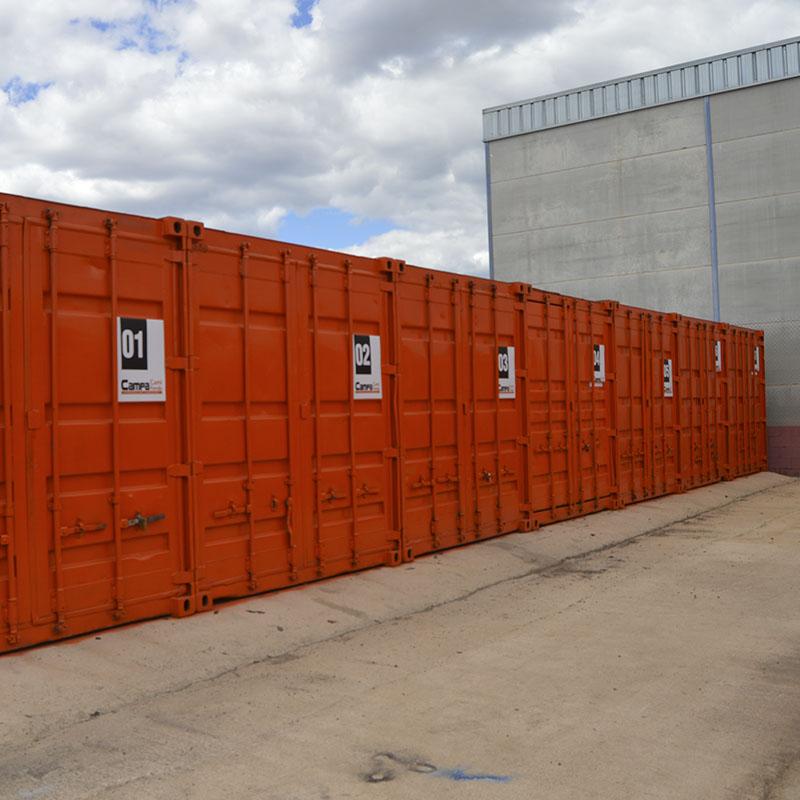 Almacenaje para clientes parking de camiones en Castellón