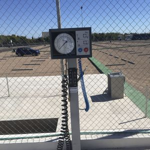 Surtidor Aire/Agua parking camiones Castellón
