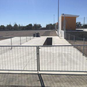 Foso taller parking de camiones en Castellón