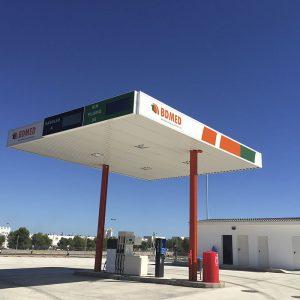 Gasolinera Low Cost parking de camiones en Castellón