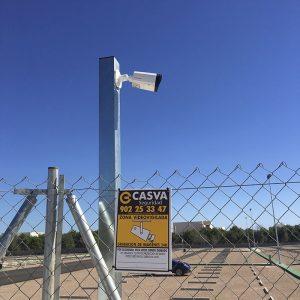 Seguridad parking camiones Castellón