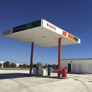 Gasolinera parking de camiones Nules
