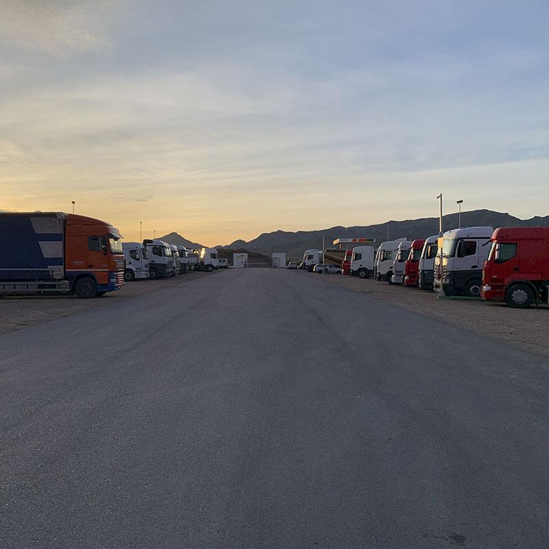 Parking de camiones Nules