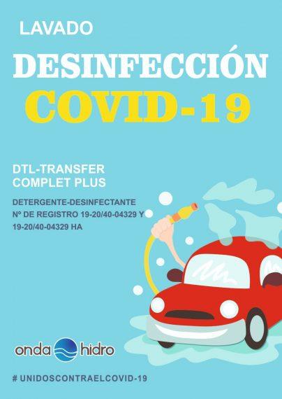 Desinfecciones camiones covid19 Castellón